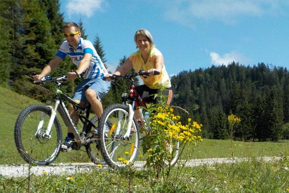 Mountainbikestrecke